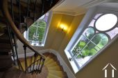 Beautiful winding staircase