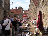De markt in Mont St Jean