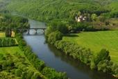 Het kanaal de Bourgogne bij Dijon, Mike Long
