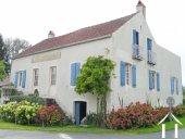 Charmant dorpshuis te koop in de Bourgogne