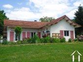 Mooie villa in de Bresse geschikt voor B&B en mini camping