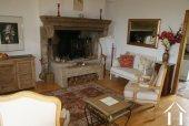 Burgundian fireplace