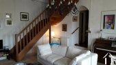 Stairs to access upper floor bedroom