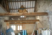 Inside Barn partly created