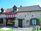 Stenen huis in perfecte staat in de Morvan