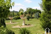 Secluded formal gardens
