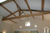 Character oak beams