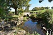 Private bridge to the property