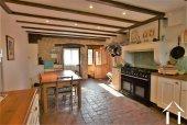 Bright full width kitchen