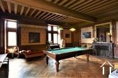 Billiard room on the first floor