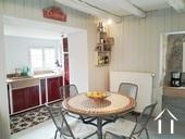 cuisine avec plafond à la française