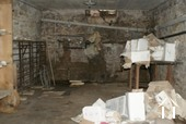 Inside wine cellar