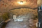 vaulted cellar under the kitchen