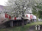 Springtime facade