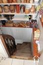 Staircase cellar
