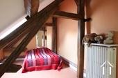 roze slaapkamer met dressing