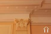 detail plafond woonkamer