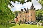 13 tot 19de eeuw kasteel, op 15 hectare, zuid bourgogne