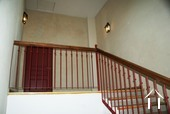 Apartmmet staircase entrance