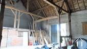 inside of brick barn