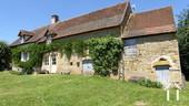 Gerenoveerd stenen huis met uitzicht, zuid bourgogne