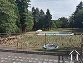 grand jardin clos, avec piscine et tennis