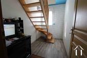 Werk/studeerkamer met trap naar zolder