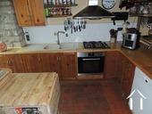 Keuken met apparatuur