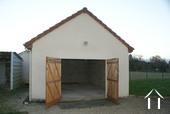 Garage in annexe building
