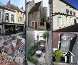 5 gites in twee gebouwen + huis met karakter te koop