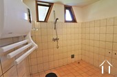 Walk in shower on ground floor