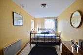second bedroom in main house, sleeping three