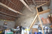 large barn with access to attic of main house