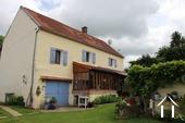 Charmant gerenoveerd huis met karakter in de Puisaye