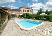 Maison de maitre met 1 ha land, zwembad en uitzicht.