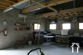 big new garage or workspace