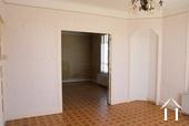 doors between front and back living room