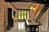 <en>dining room with view on the terrace</en><fr>salle à manger</fr>