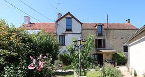 Wijngaard met 2 huizen